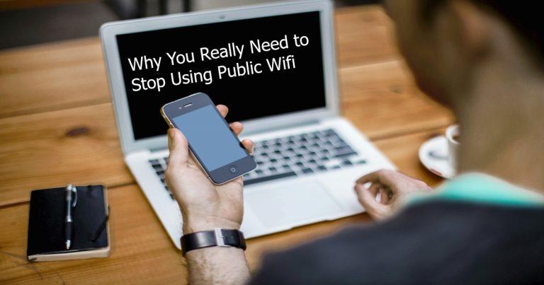 Stop Using Public WiFi